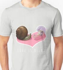 Snail Love is Blind Unisex T-Shirt