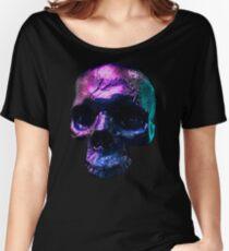 Iridescent Skull  Women's Relaxed Fit T-Shirt