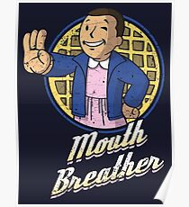Mouth Breather Poster