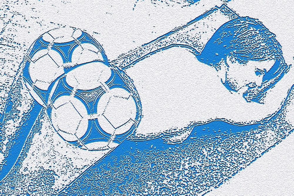 Footie Ass (in blue) by JoelCortez