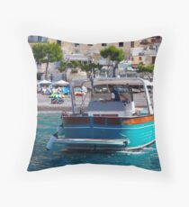 Coastal Scapes Throw Pillow