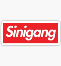 Sinigang Box Logo Sticker