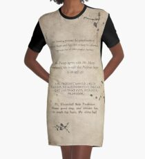 Moony Wormtail Padfoot and Prongs Graphic T-Shirt Dress