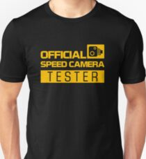 OFFICIAL SPEED CAMERA TESTER (1) T-Shirt