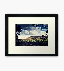 Pendle Hill, Lancashire Framed Print