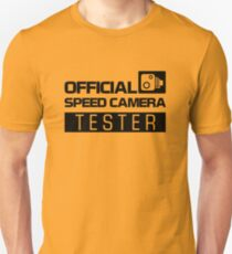 OFFICIAL SPEED CAMERA TESTER (2) T-Shirt