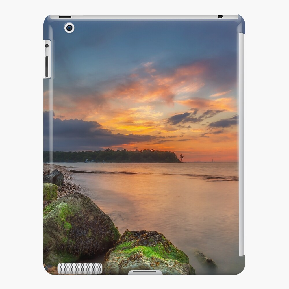 Fishbourne Beach Sunset iPad Case & Skin