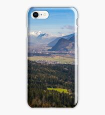 Zillertal Panoramic View iPhone Case/Skin