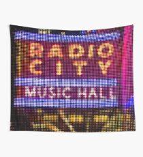 "Pixels Print ""RADIO CITY MUSIC HALL"" Wall Tapestry"