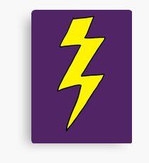 Scott Pilgrim VS the World - Lightning Bolt Shirt - Knives Chow Canvas Print