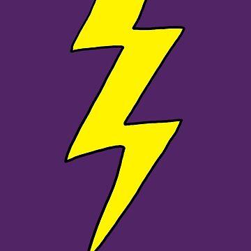 Scott Pilgrim VS the World - Lightning Bolt Shirt - Knives Chow by ptelling
