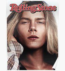 River Phoenix (Rolling Stone Magazine) Poster