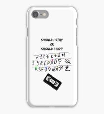 Stranger Things Wall iPhone Case/Skin
