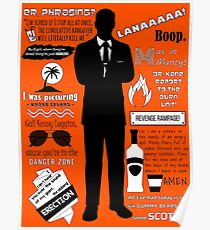 Sterling Archer — Quotes Poster