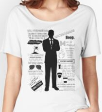 Sterling Archer — Quotes Women's Relaxed Fit T-Shirt