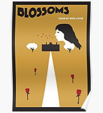 Blossoms Movie Stylised Poster Poster