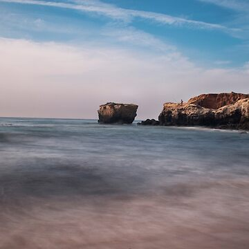 Rock Seascape by mrteshaw