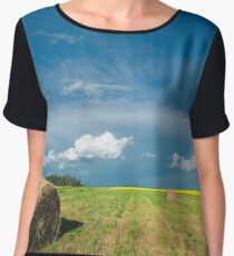 Under Prairie Skies Chiffon Top