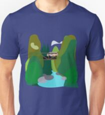 westy in NC mountains Unisex T-Shirt