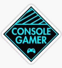 Console Gamer (Blue) Sticker