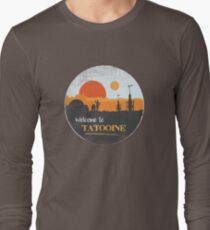 Welcome to Tatooine Long Sleeve T-Shirt