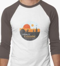 Welcome to Tatooine Men's Baseball ¾ T-Shirt