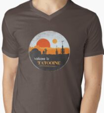 Welcome to Tatooine Men's V-Neck T-Shirt