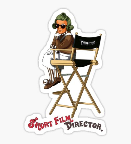 Short Film Director Sticker