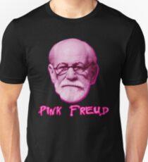 Pink Freud Head Unisex T-Shirt