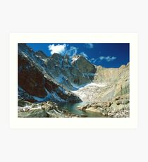 Chasm Lake Art Print