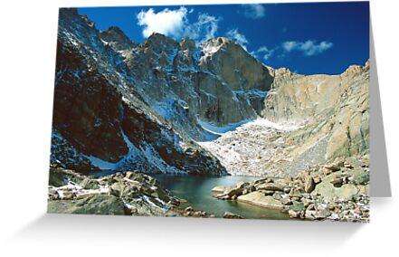 Chasm Lake by Eric Glaser