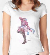 Mahou Shoujou Reaper Women's Fitted Scoop T-Shirt