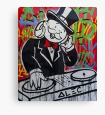 DJ Rich Uncle Pennybags Canvas Print