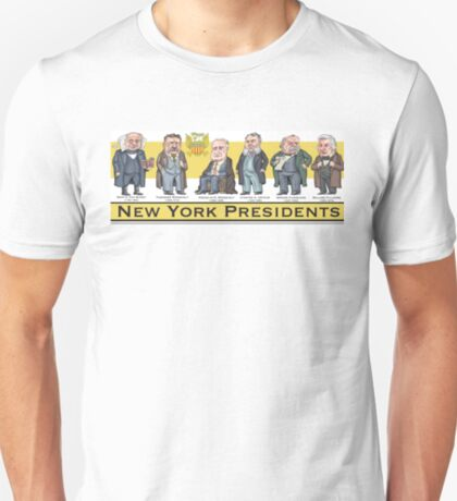 U.S. Presidents from New York State T-Shirt