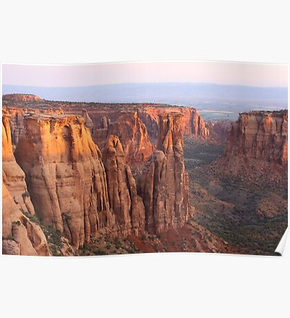 Canyons and Monoliths Poster