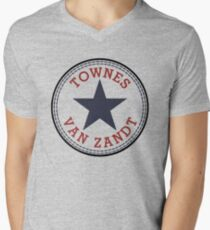 Townes Van Zandt Lone Star State Men's V-Neck T-Shirt