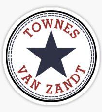 Townes Van Zandt Lone Star State Sticker