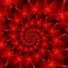 Red Spiral  by Kitty Bitty