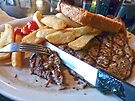 Steak Dinner by FrankieCat