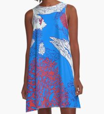Coral reef A-Line Dress