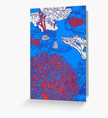 Coral reef Greeting Card