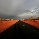 Outback road after the storm by Elena Martinello