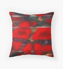 Red Scare Throw Pillow