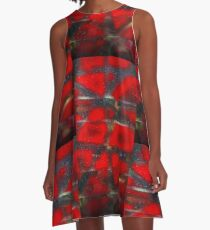 Red Scare A-Line Dress