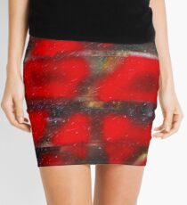 Red Scare Mini Skirt