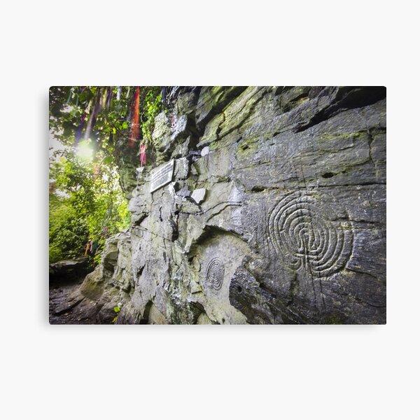 Cornwall : Rocky Valley Labyrinths Canvas Print