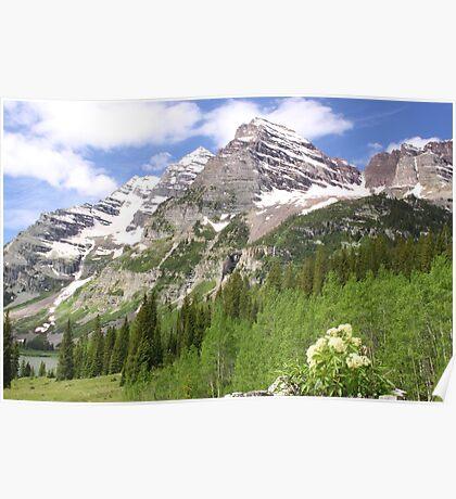 Elk Mountains Poster