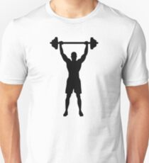 Weightlifter Unisex T-Shirt