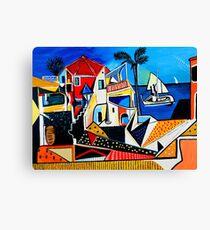 Mediterranean- Tribute to Picasso Canvas Print