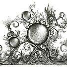 Harmonic, Ink Drawing by Danielle Scott